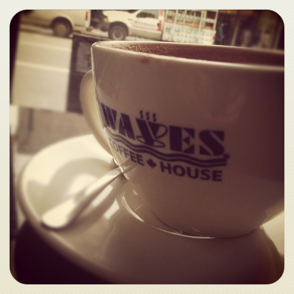Waves Coffee on Richards and Hastings