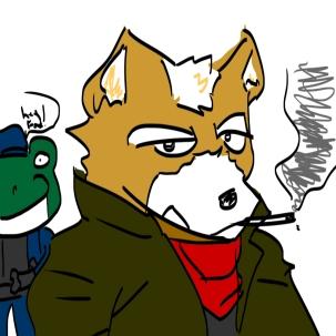 Fox McCloud is a Tunnel Snake